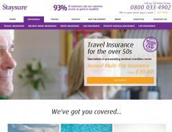 Staysure Travel Insurance Promo Codes & Coupons