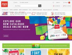 Argos Promo Codes & Coupons