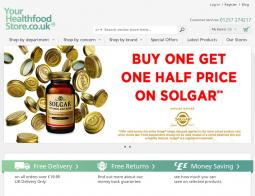 Your Health Food Store Promo Codes & Coupons