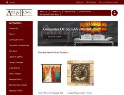 Art & Home Promo Codes & Coupons