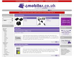 4Mobiles Promo Codes & Coupons