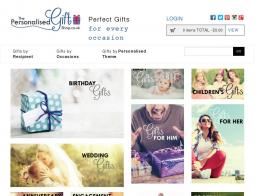 The Personalised Gift Shop Promo Codes & Coupons
