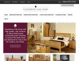 Canterbury Oak Store Promo Codes & Coupons