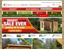Buy Log Cabins Direct Promo Codes & Coupons