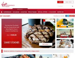 Virgin Experience Days Promo Codes & Coupons