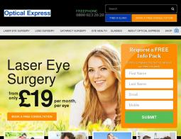 Optical Express Promo Codes & Coupons
