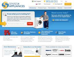 Spares4Appliances Promo Codes & Coupons
