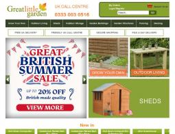 Great Little Garden Promo Codes & Coupons