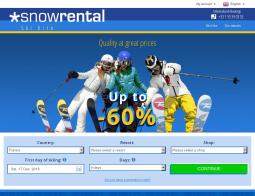 Snowrental Promo Codes & Coupons
