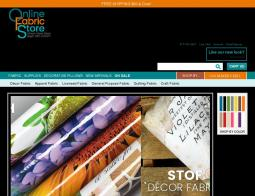 Online Fabric Store Promo Codes & Coupons