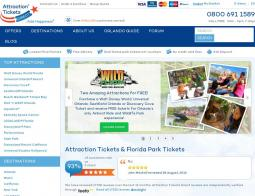 Attraction Tickets Direct Promo Codes & Coupons