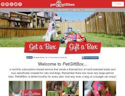 Pet Gift Box Coupons