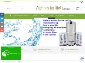 Vitamins for Life Promo Codes & Coupons