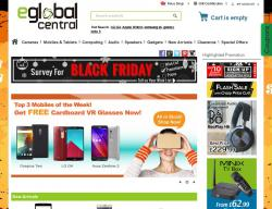 eGlobal Central UK Promo Codes & Coupons