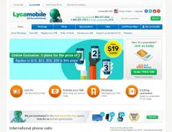 LycaMobile US Coupons
