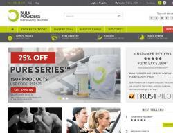Bulk Powders Promo Codes & Coupons