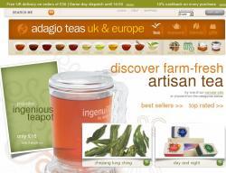 Adagio Teas UK Promo Codes & Coupons