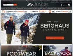 Simply Hike Promo Codes & Coupons