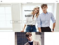 Gant UK Promo Codes & Coupons