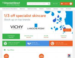 Chemist Direct Promo Codes & Coupons