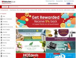 Rakuten UK Coupons
