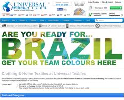 Universal Textiles Promo Code