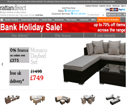Rattan Direct Promo Codes & Coupons