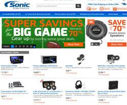 Sonic Electronix Coupons 2018