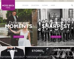 Moss Bros Hire Promo Codes & Coupons