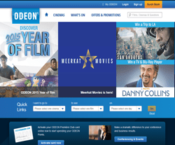 ODEON Promo Codes & Coupons