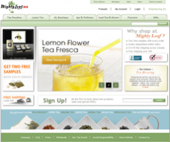 Mighty Leaf Tea Canada Coupons