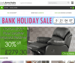 Just Armchairs Promo Codes & Coupons
