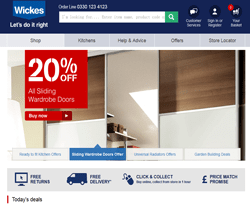 Wickes Promo Codes & Coupons