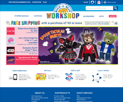 Build-A-Bear Workshop Promo Codes & Coupons