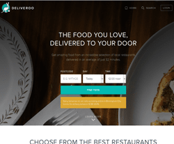 Deliveroo Promo Codes & Coupons