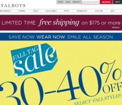 image relating to Talbots Printable Coupon identify Wonderful Talbots Promo Codes 2019 : 60% Off