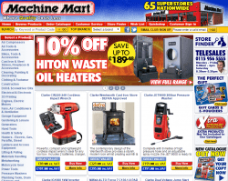 Machine Mart Promo Codes & Coupons