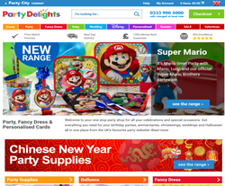 Party Delights Promo Codes & Coupons