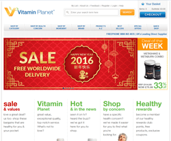 Vitamin Planet Promo Codes & Coupons