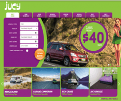 JUCY Rentals New Zealand Promo Codes & Coupons