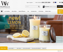 Woodwick Candles Promo Codes & Coupons
