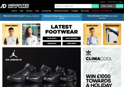 JD Sportss Promo Codes & Coupons
