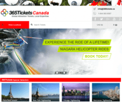 365 Tickets Canada Promo Codes & Coupons