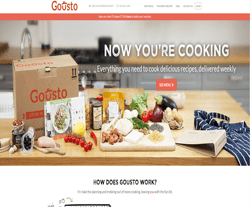 Gousto Promo Codes & Coupons