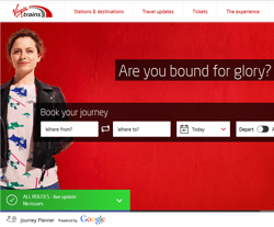 Virgin Trains Promo Codes & Coupons