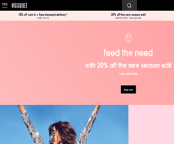 Missguided.eu Promo Codes & Coupons