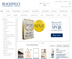 Blackwell Books Promo Codes & Coupons