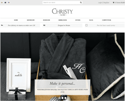 Christy Towels Promo Codes & Coupons