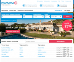 Interhome Promo Codes & Coupons