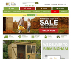 Buy Sheds Direct Promo Codes & Coupons